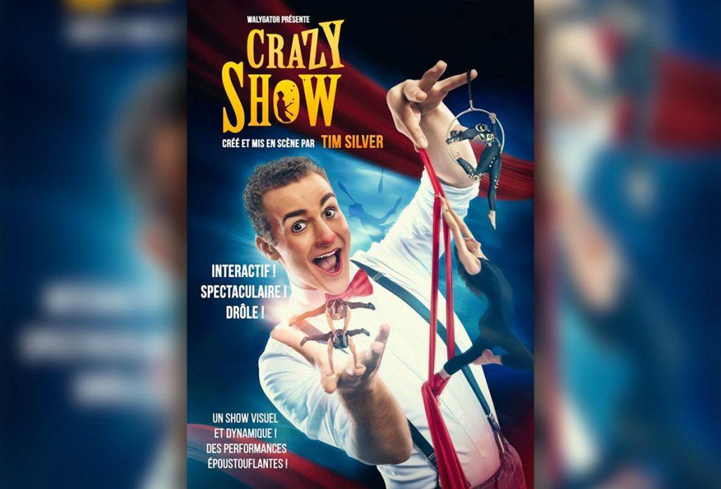 Découvrez le spectacle Crazy Show
