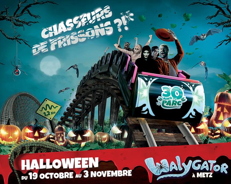 Halloween revient au Parc Walygator