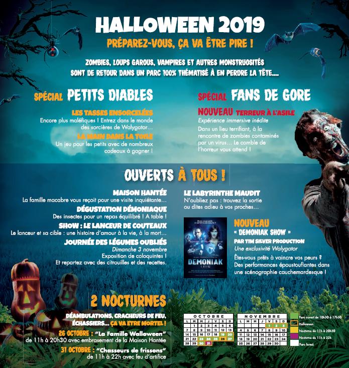 Halloween 2019 : Découvrez le programme